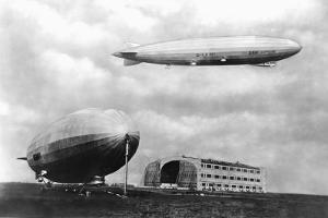 Airships at Lakehurst, New Jersey