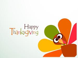 Beautiful, Colorful Cartoon of Turkey Bird for Happy Thanksgiving Celebration, Can Be Use as Flyer, by aispl