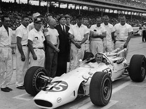Aj Foyt in Lotus-Ford, Indianapolis 500, Indiana, USA, 1965