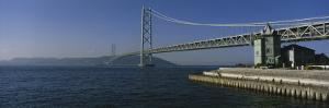 Akashi-Kaikyo Bridge, Awaji-Shima, Japan