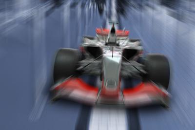 Speeding Formula One Car - Speed Concept by Akhilesh