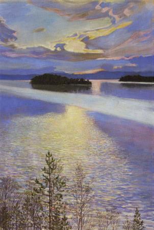 Sea View, 1901 by Akseli Gallen-Kallela
