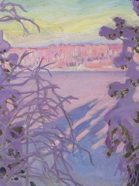 A Winter Landscape, 1917 by Akseli Valdemar Gallen-kallela