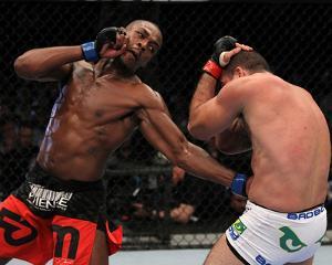 UFC 128: Mar 19, 2011 - Mauricio Rua vs Jon Jones by Al Bello