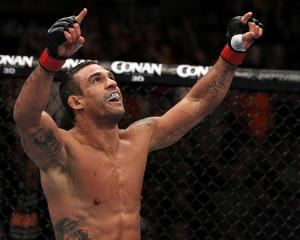 UFC 133: Aug 16, 2011 - Vitor Belfort vs Randy Couture by Al Bello
