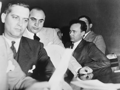 Al Capone, at the Time of His Indictment for Tax Evasion, June 5, 1931