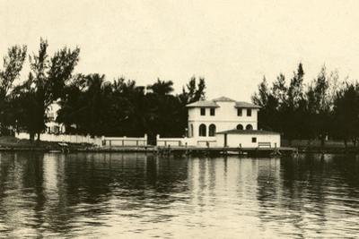 Al Capone''s Home on Palm Island, Miami Beach, C.1928