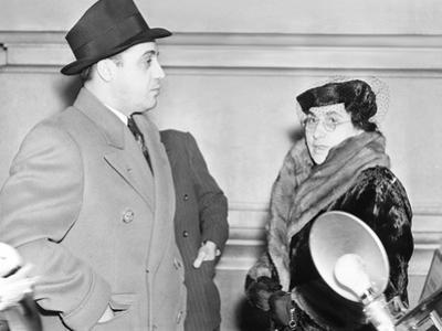 Al Capone's Mother Teresa, and Brother Ralph Photographed in Federal Prison at Terminal Island
