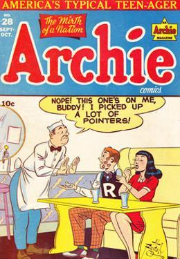 Archie Comics Retro: Archie Comic Book Cover No.28 (Aged) by Al Fagaly