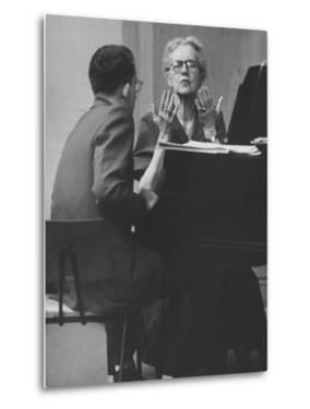 Musician David Ward-Steinman at Southern Illinois University, Instructed by Nadia Boulanger by Al Fenn