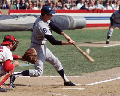 Al Kaline 1968 World Series Action