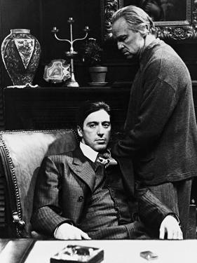 Al Pacino, Marlon Brando, the Godfather, 1972
