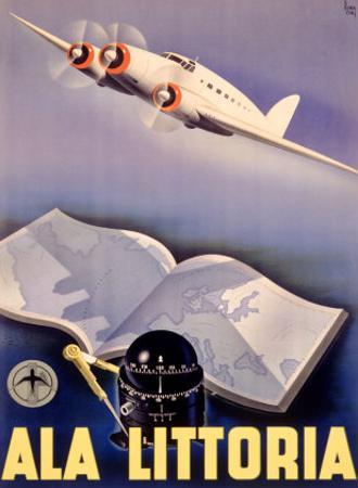 Ala Littoria Airline Aviation