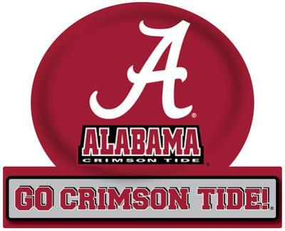 Alabama Crimson Tide Jumbo Tailgate Peel & Stick