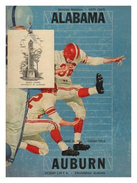 Alabama vs. Auburn, 1960