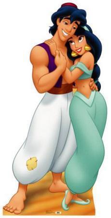 Aladdin and Jasmine