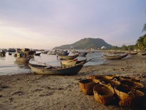 Bai Truoc Front Beach, Vung Tau Town, Saigon, Vietnam, Indochina, Southeast Asia by Alain Evrard
