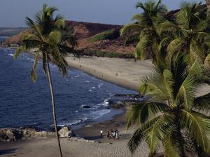 Chapora Fort and Beach, Goa, India by Alain Evrard
