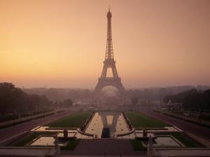 Eiffel Tower at Dawn, Paris, France, Europe by Alain Evrard