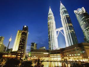 Petronas Twin Towers, Kuala Lumpur, Malaysia, Southeast Asia by Alain Evrard