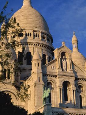 Sacre Coeur, Montmartre, Paris, France, Europe by Alain Evrard