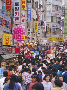 South Gate Market, Seoul City, South Korea, Asia by Alain Evrard