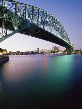 Sydney Harbour Bridge, Circular Quay Pier, Sydney, New South Wales, Australia, Pacific by Alain Evrard