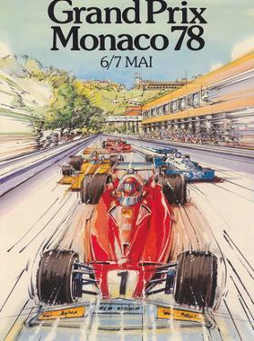 Grand Prix Monaco 1978 - Formula One F1 by Alain GIAMPAOLI