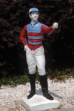 Jockey Horse Hitching Posts, Lexington, Kentucky, Usa, 1984 by Alain Le Garsmeur