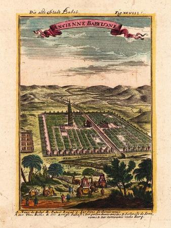 Die Alte Stadt Babel, 1719