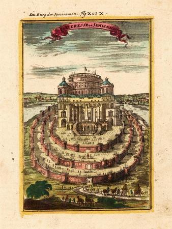 Fortress of Semiramis, 1719