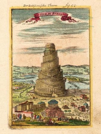 Tower of Babel, 1719