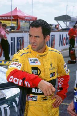 Alain Menu.British touring car driver