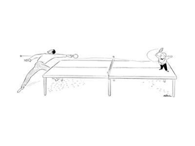 New Yorker Cartoon by Alain