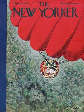 The New Yorker Cover - December 16, 1944 by Alain