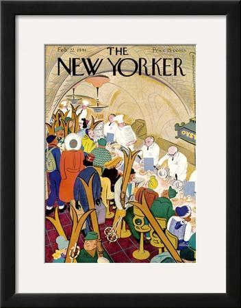 The New Yorker Cover - February 22, 1941 by Alain