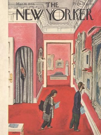 The New Yorker Cover - March 30, 1946 by Alain