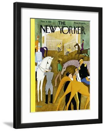 The New Yorker Cover - November 9, 1935 by Alain
