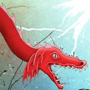 Close-Up of Red Dragon by Alan Baker