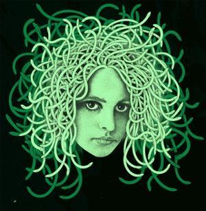 Portrait of Medusa by Alan Baker
