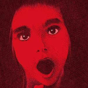 Portrait of Young Woman Yelling by Alan Baker