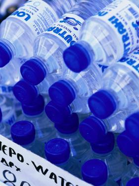 Bottled Water, Greece by Alan Benson