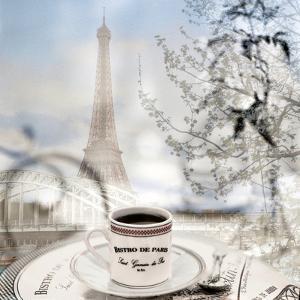Bistro de Paris #1 by Alan Blaustein