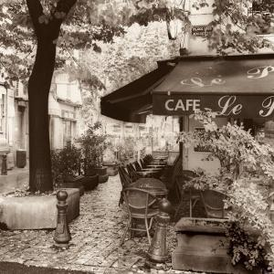 Cafe, Aix-en-Provence by Alan Blaustein