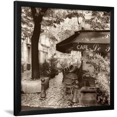 Cafe, Aix-en-Provence by Alan Blaustein