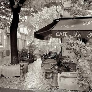 Café, Aix-en-Provence by Alan Blaustein