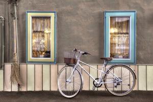 Cafe Bike Ride by Alan Blaustein