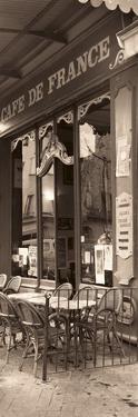 Café de France by Alan Blaustein