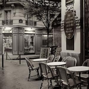 Café, Montmartre by Alan Blaustein