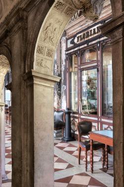 Caffe Florian Arc #1 by Alan Blaustein
